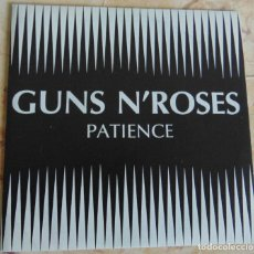 Discos de vinilo: GUNS N' ROSES – PATIENCE - SINGLE PROMO 1989. Lote 197163513