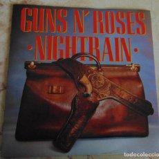 Discos de vinilo: GUNS N' ROSES – NIGHTRAIN - SINGLE EDICION LIMITADA 1989. Lote 197163550
