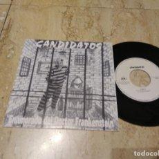 Discos de vinilo: CANDIDATOS- ENAMORADO DEL DOCTOR FRANKESTEIN / VOLVERAN / MOVIDA GRANADA- BBG 1994-MUY RARO!!!. Lote 197178737