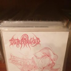 Disques de vinyle: DERANGED / UPON THE MEDICAL SLAB / MMI RECORDS 1994. Lote 197199211