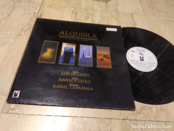 LUIS DELGADO (MECANICA POPULAR) (BABIA) LP. ALQUIBLA-1990-GATEFOL COVER (Música - Discos de Vinilo - EPs - Grupos Españoles de los 70 y 80)