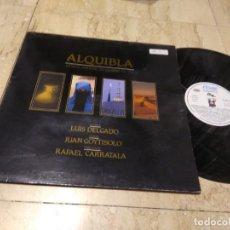 Discos de vinilo: LUIS DELGADO (MECANICA POPULAR) (BABIA) LP. ALQUIBLA-1990-GATEFOL COVER. Lote 197215260