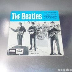 Discos de vinilo: THE BEATLES ---WHAT YOU´RE DOING ---EDICION 1964 --- LABEL AZUL FUERTE-- ( MINT ( M ). Lote 197216272