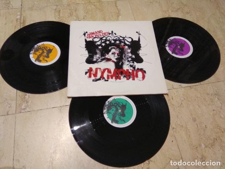ARMAND VAN HELDEN ?– NYMPHO -ELECTRONIC HOUSE- PIAS-2005- TRIPLE LP- (Música - Discos - LP Vinilo - Techno, Trance y House)