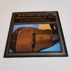 Discos de vinilo: COLECCION MUSICA ANTIGUA ESPAÑOLA - VIHUELISTAS ESPAÑOLES ( S. XVI ). Lote 197233748