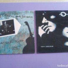 Discos de vinilo: LOTE 2 LPS ORIGINALES. ROY ORBISON. AND FRIENDS LIVE Y MYSTERY GIRL. MAS ENCARTES.. Lote 197236926