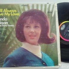 Discos de vinilo: WANDA JACKSON AND THE PARTY TIMERS - YOU'LL ALWAYS HAVE MY LOVE - LP USA CAPITOL 1967. Lote 197237868