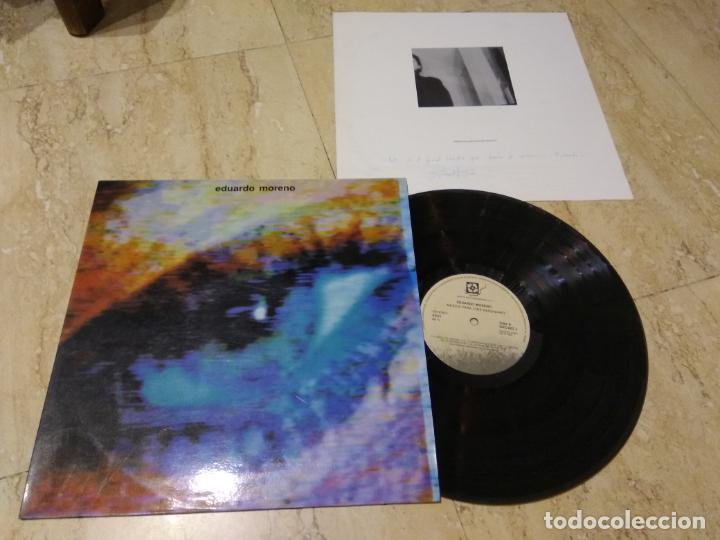 EDUARDO MORENO- MUSICA PARA CINE IMAGINARIO-PRIVATE-SPANISH-SYNTH PROGRESIVO-1990-CONTIENE INSERT (Música - Discos - LP Vinilo - Electrónica, Avantgarde y Experimental)