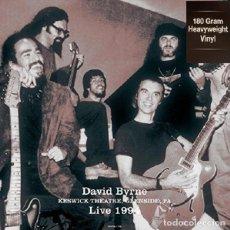 Discos de vinilo: DAVID BYRNE ( TALKING HEADS ) * LP HQ VIRGIN VINYL 180 G* LIVE AT THE KESWICK THEATRE * PRECINTADO. Lote 197260450