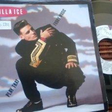 Disques de vinyle: SINGLE ( VINILO) DE VANILLA ICE AÑOS 90. Lote 197264600