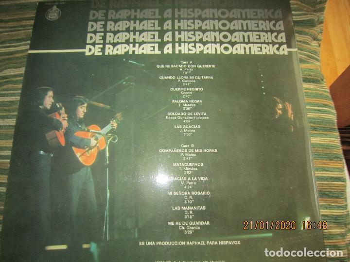 Discos de vinilo: RAPHAEL - Y LOS GEMELOS - CONCIERTO HISPANOAMERICANO LP - ORIGINAL ESPAÑOL - HISPAVOX 1975 - ESTEREO - Foto 2 - 197275176