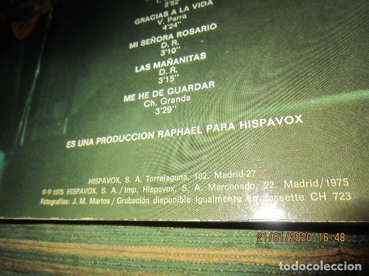 Discos de vinilo: RAPHAEL - Y LOS GEMELOS - CONCIERTO HISPANOAMERICANO LP - ORIGINAL ESPAÑOL - HISPAVOX 1975 - ESTEREO - Foto 3 - 197275176