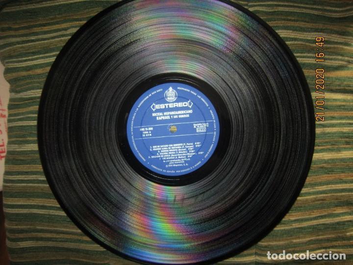 Discos de vinilo: RAPHAEL - Y LOS GEMELOS - CONCIERTO HISPANOAMERICANO LP - ORIGINAL ESPAÑOL - HISPAVOX 1975 - ESTEREO - Foto 5 - 197275176