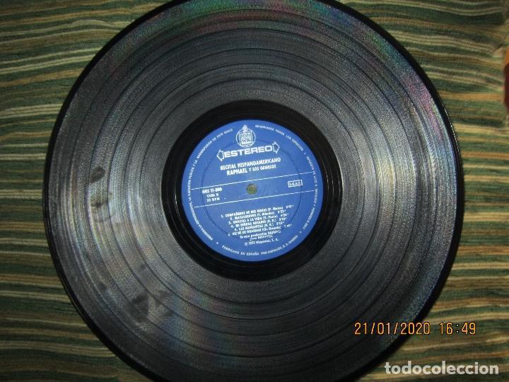 Discos de vinilo: RAPHAEL - Y LOS GEMELOS - CONCIERTO HISPANOAMERICANO LP - ORIGINAL ESPAÑOL - HISPAVOX 1975 - ESTEREO - Foto 8 - 197275176