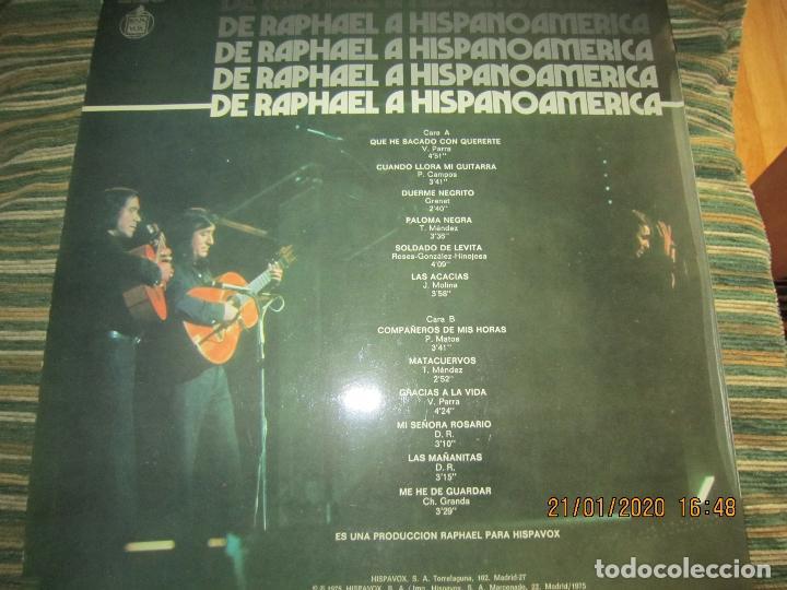 Discos de vinilo: RAPHAEL - Y LOS GEMELOS - CONCIERTO HISPANOAMERICANO LP - ORIGINAL ESPAÑOL - HISPAVOX 1975 - ESTEREO - Foto 11 - 197275176