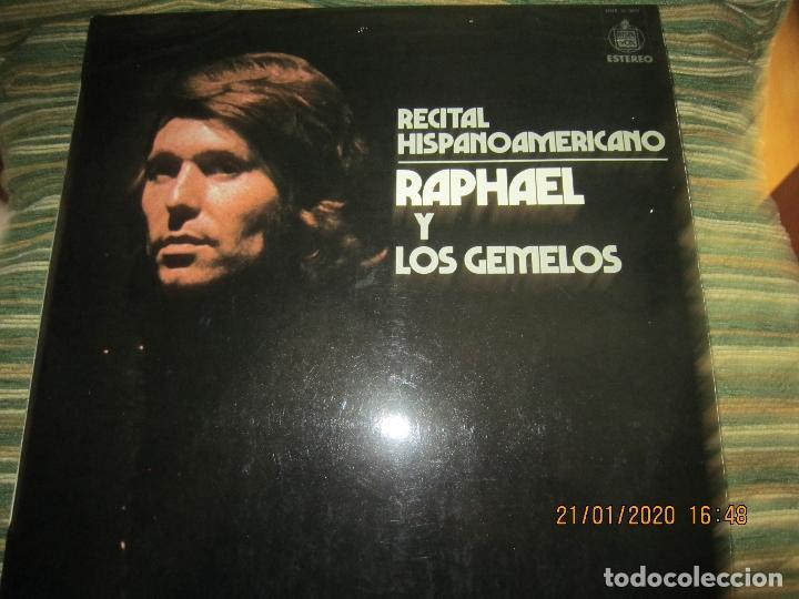 Discos de vinilo: RAPHAEL - Y LOS GEMELOS - CONCIERTO HISPANOAMERICANO LP - ORIGINAL ESPAÑOL - HISPAVOX 1975 - ESTEREO - Foto 12 - 197275176