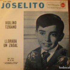 Discos de vinilo: JOSELITO VIOLINO TZIGANO SINGLE ITALIANO. Lote 197293750