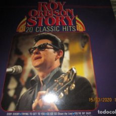 Discos de vinilo: ROY ORBISON - THE STORY OF ROY ORBISON LP - EDICION HOLANDESA- MASTERS RECORDS 1985 STEREO. Lote 197297916
