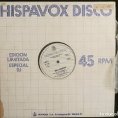 Discos de vinilo: BIBI ANDERSEN / AMINA: CALL ME LADY CHAMPAGNE (SPANISH PROMO )ALMODOVAR /ALASKA. Lote 197304371
