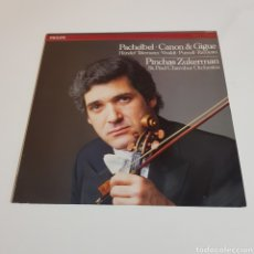 Discos de vinilo: PACHELBEL . CANON & GIDE - PINCHAS ZUKERMAN. Lote 197306955