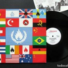 Discos de vinilo: STIFF LITTLE FINGERS – FLAGS & EMBLEMS – VINILO 1991. Lote 197312660
