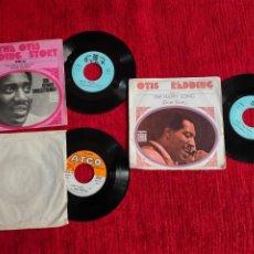 Discos de vinilo: OTIS REDDING 3 DISCOS FRANCESES. Lote 197315682