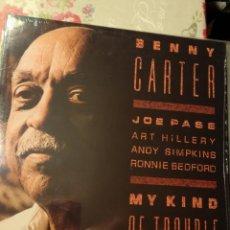 Discos de vinilo: BENNY CARTER- MY KIND OF THE BLUES. Lote 197321116