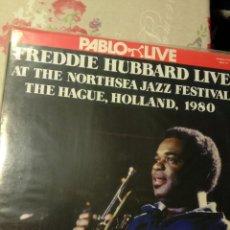 Discos de vinilo: FREDDIE HUBBARD LIVE AT THE NORTHSEA JAZZ FESTIVAL. Lote 197325345