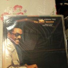 Discos de vinilo: DUKE JORDAN TRIO- THE GREAT SESSION. Lote 197327300
