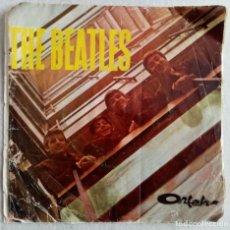 Discos de vinilo: SOLO PORTADA - RARA - THE BEATLES ·DR ROBERTS / YARDBIRDS / THE ROULLETES...EP - IRAN 1966 ORFEH. Lote 197330463