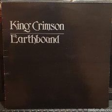 Discos de vinilo: KING CRIMSON, EARTHBOUND. Lote 197330747