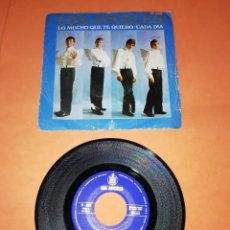 Discos de vinilo: LOS ANGELES. LO MUCHO QUE TE QUIERO. CADA DIA. HISPAVOX 1969.. Lote 197331153