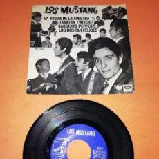 Discos de vinilo: LOS MUSTANG. LA AYUDA DE LA AMISTAD. LAVOZ DE SU AMO-EMI 1967. Lote 197333108