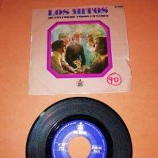 Discos de vinilo: LOS MITOS. ME CONFORMO. TODOS LO SABEN. HISPAVOX. 1969. Lote 197339095