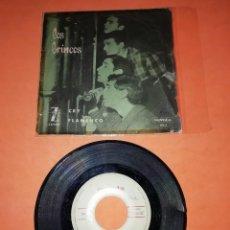 Discos de vinilo: LOS BRINCOS. CRY. FLAMENCO. NOVOLA RECORDS 1964.. Lote 197342131