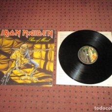 Discos de vinilo: IRON MAIDEN - PIECE OF MIND - SPAIN - EMI - INCLUYE ENCATE - REF 10C 068-007724 - EDICION 1983 - L -. Lote 297258113