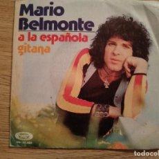 Discos de vinilo: DISCO VINILO SINGLES MARIO BELMONTE. Lote 197345595