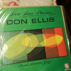 Discos de vinilo: DON ELLIS- HOW TIME PASSES. Lote 197346795