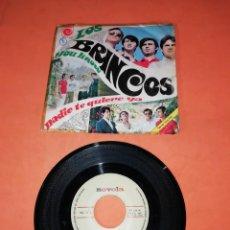 Discos de vinilo: LOS BRINCOS. YOU KNOW. NADIE TE QUIERE YA. NOVOLA RECORDS 1967.. Lote 197346990
