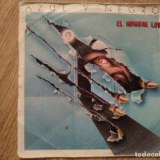 Discos de vinilo: DISCO VINILO SINGLES AZUL Y NEGRO . Lote 197347355