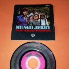 Discos de vinilo: MUNGO JERRY. EN EL VERANO. PODEROSO. PYE HISPAVOX 1970. Lote 197347726