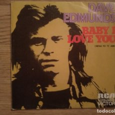 Discos de vinilo: DISCO VINILO SINGLES DAVE EDMUNDS. Lote 197347783