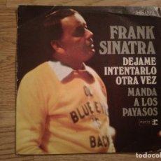 Discos de vinilo: DISCO VINILO SINGLES FRANK SINATRA. Lote 197348768