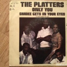 Discos de vinilo: DISCO VINILO SINGLES THE PLATTERS. Lote 197349591
