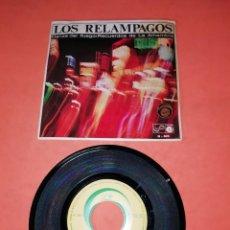 Discos de vinilo: LOS RELAMPAGOS. DANZA DEL FUEGO. RECUERDOS DE LA ALHAMBRA. ZAFIRO. 6 PISTAS 1968. Lote 197349885