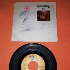 Discos de vinilo: CANARIOS. NIÑO. REQUIEM FOR A SOUL. SONO PLAY 1968. Lote 197353631