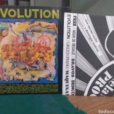 Discos de vinilo: EVOLUTION, WAH-WAH RECORDS, CON ENCARTE Y PÓSTER. Lote 197369413
