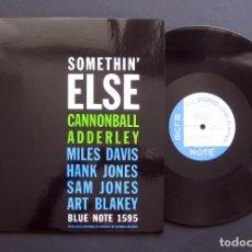 Discos de vinilo: CANNONBALL ADDERLEY – SOMETHIN' ELSE – VINILO 2009. Lote 197371773