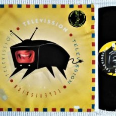 Discos de vinilo: TELEVISSION '' SOME COME IN '' MAXI 12'' SPAIN 1994 . Lote 197392080