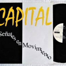 Discos de vinilo: CAPITAL '' SEÑALES EN MOVIMIENTO '' MAXI 12'' SPAIN 1994 . Lote 197393405